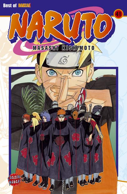 Naruto 41 - Das Cover