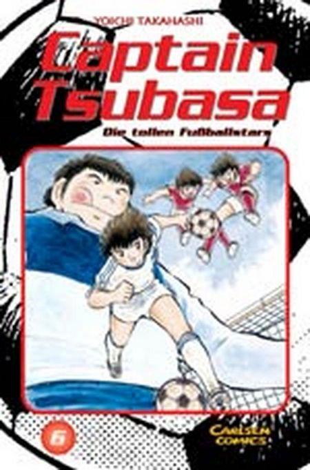 Captain Tsubasa - Die tollen Fussballstars 6 - Das Cover