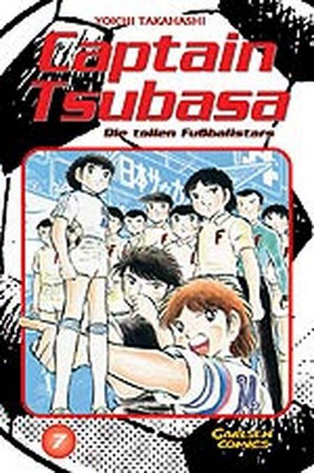 Captain Tsubasa - Die tollen Fussballstars 7 - Das Cover