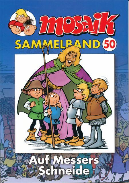 Mosaik Sammelband 50: Auf Messers Schneide - Das Cover