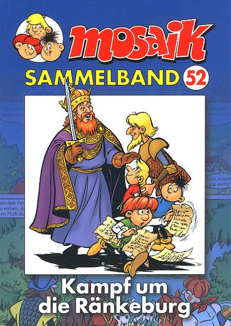 Mosaik Sammelband 52: Kampf um die Ränkeburg - Das Cover