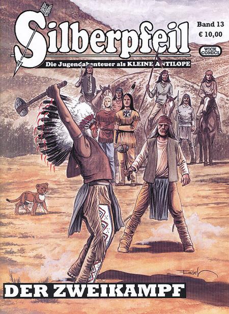 Silberpfeil 13: Der Zweikampf - Das Cover