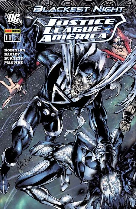 Justice League of America 11: Blackest Night - Das Cover