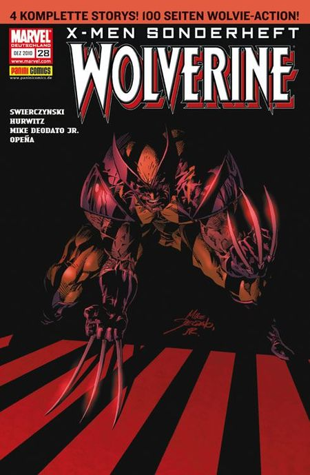 X-Men Sonderheft 28: Wolverine - SNIKT! - Das Cover