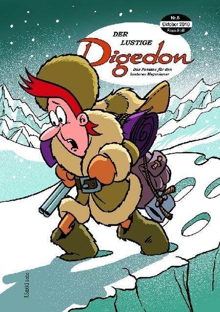 Der lustige Digedon 5 - Das Cover
