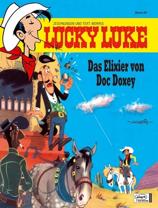 Lucky Luke 86: Das Elixier von Doc Doxey - Das Cover