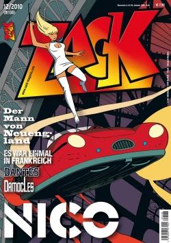 ZACK 138 (Nr. 12/2010) - Das Cover