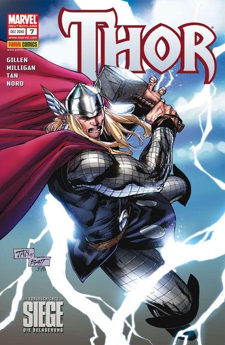Thor 7: Der Prometheus von Latveria - Das Cover