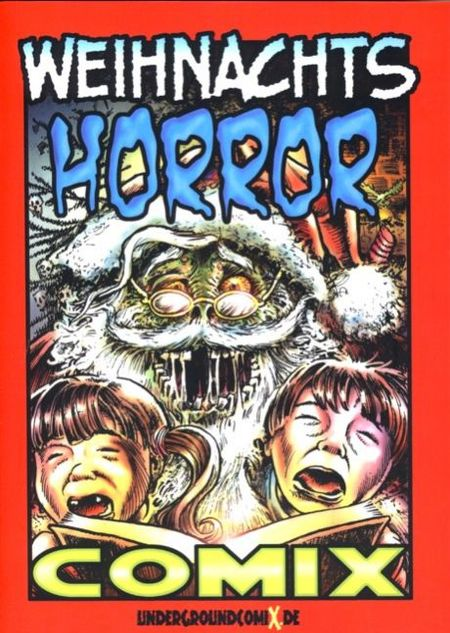 Weihnachts HORROR Comix - Das Cover
