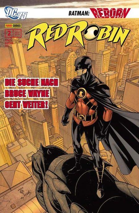 Red Robin 2: Rat der Spinnen - Das Cover