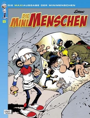 Die Minimenschen Maxiausgabe 8 - Das Cover