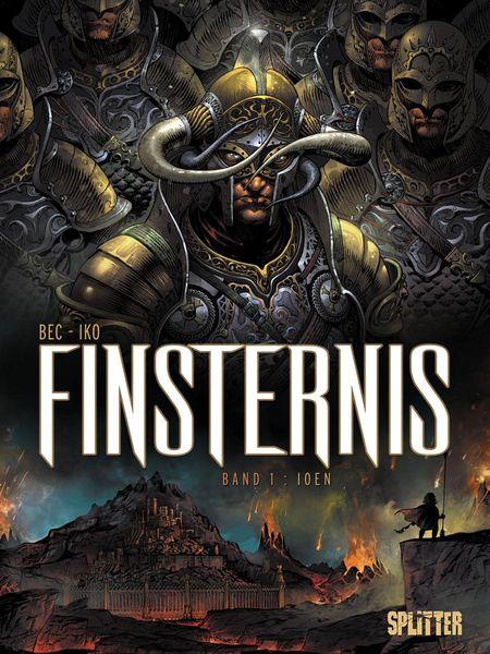 Finsternis 1: Ioen - Das Cover