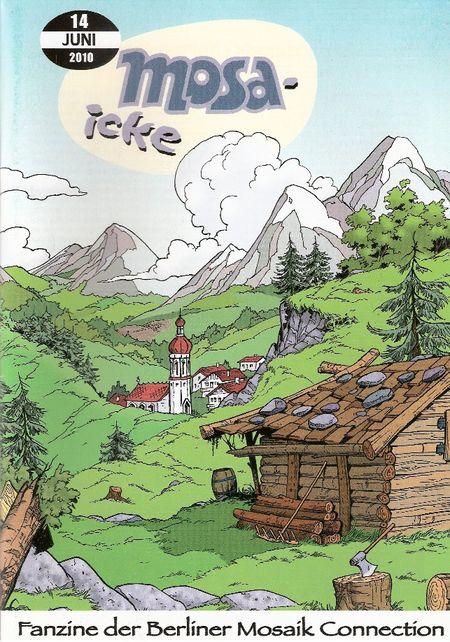 mosa-icke 14 - Das Cover