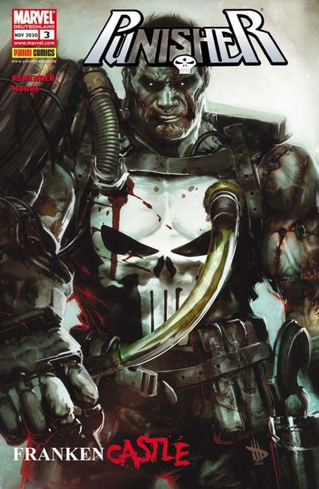 Punisher 3: Frankencastle - Das Cover