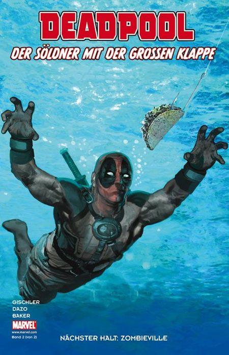 Deadpool - Der Söldner mit der grossen Klappe 2: Nächster Halt: Zombieville - Das Cover