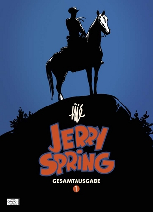 Jerry Spring Gesamtausgabe 1 - Das Cover