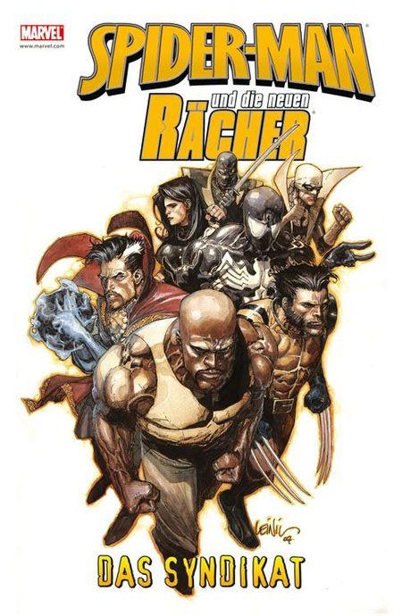 Spider-Man und die neuen Rächer 5: Das Syndikat - Das Cover