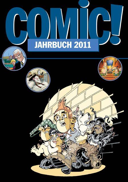 COMIC! Jahrbuch 2011 - Das Cover