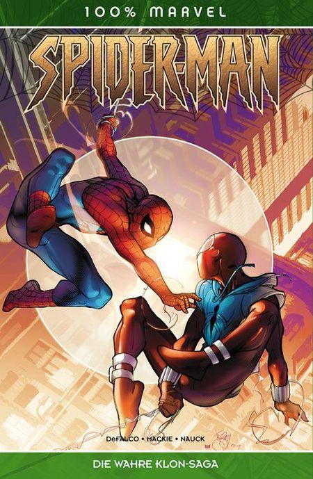 100% Marvel 52: Spider-Man - Die wahre Klon-Saga - Das Cover