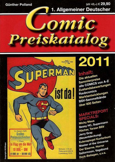 Comic Preiskatalog 2011 [SC] - Das Cover
