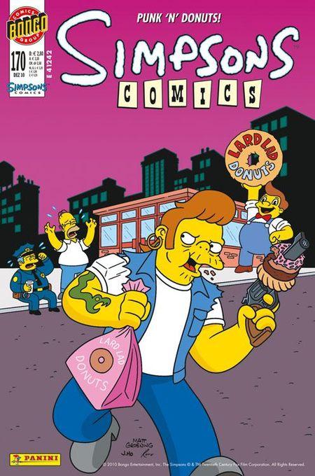 Simpsons Comics 170 - Das Cover
