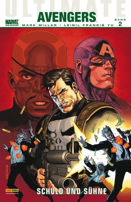 Ultimate Avengers 2: Schuld und Sühne - Das Cover