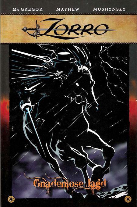 Zorro 1: Gnadenlose Jagd - Das Cover