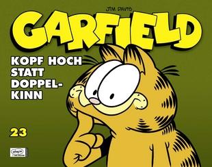 Garfield 23: Kopf hoch statt Doppelkinn  - Das Cover