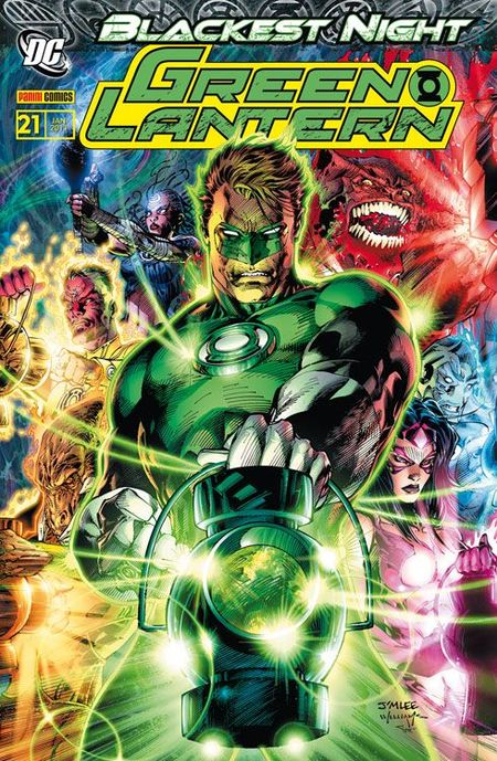 Green Lantern Sonderband 21: Blackest Night 4 - Das Cover