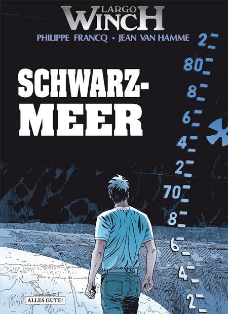 Largo Winch 17: Schwarzmeer - Das Cover