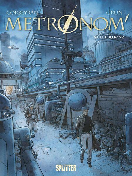 Metronom 1: Null Toleranz - Das Cover