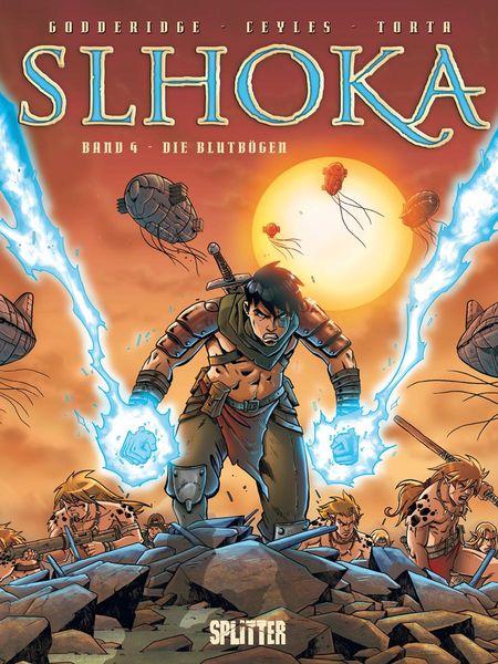 Slhoka 4: Die Blutbögen - Das Cover