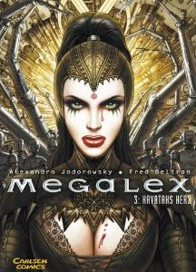 Megalex 3: Kavatahs Herz - Das Cover