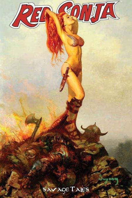 Red Sonja Special 5: Savage Tales - Das Cover