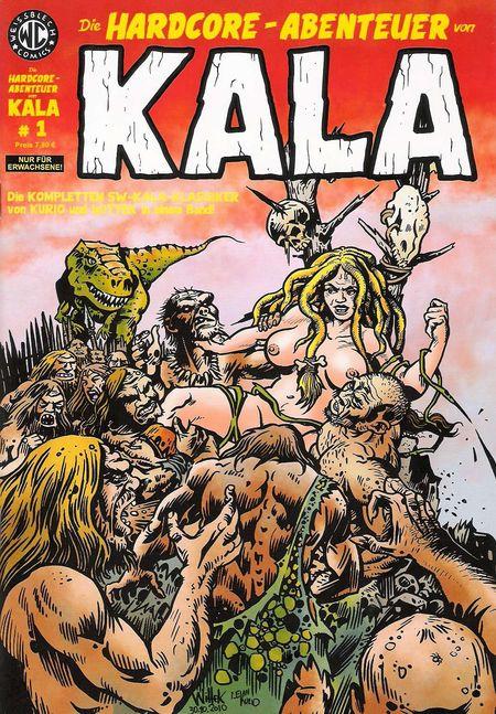 Die Hardcore-Abenteuer von Kala 1 - Das Cover