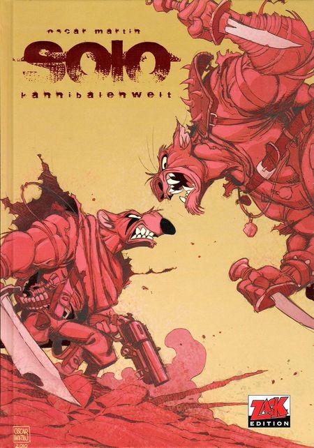 Solo: Kannibalenwelt - Das Cover