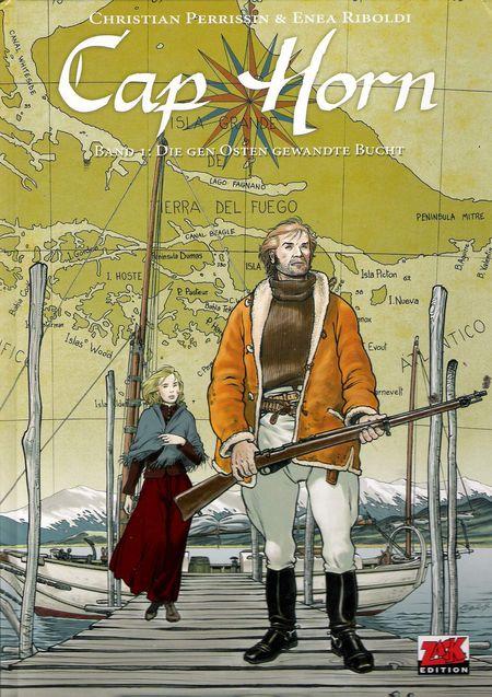 Cap Horn 1: Die gen Osten gewandte Bucht - Das Cover