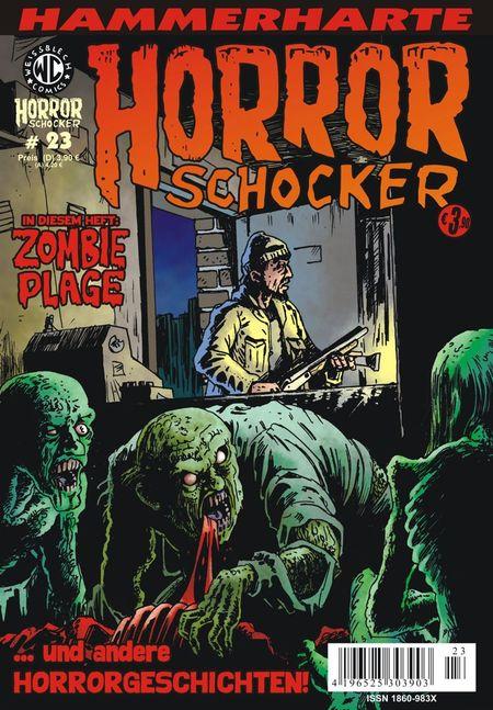 Horrorschocker 23 - Das Cover