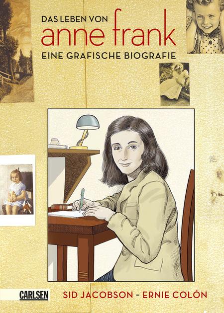 Das Leben von Anne Frank - Eine grafische Biografie - Das Cover