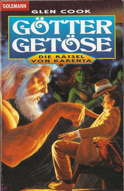 Die Rätsel von Karenta 8: Göttergetöse - Das Cover