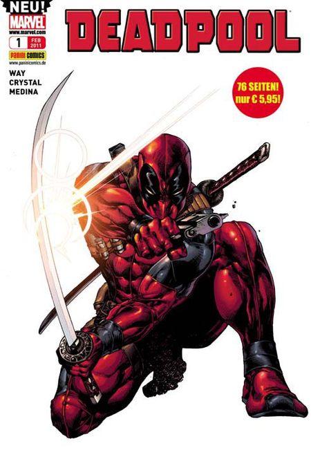 Deadpool 1 - Das Cover
