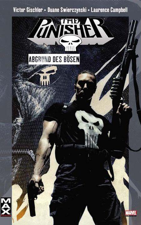 Marvel Max 38: Punisher - Abgrund des Bösen - Das Cover