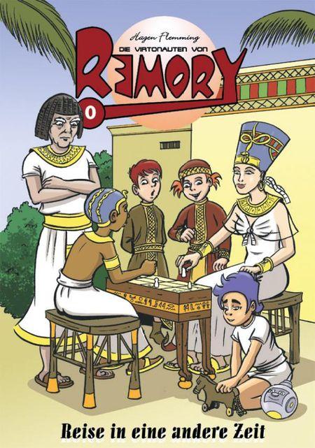 Die Virtonauten von Remory 0 - Das Cover