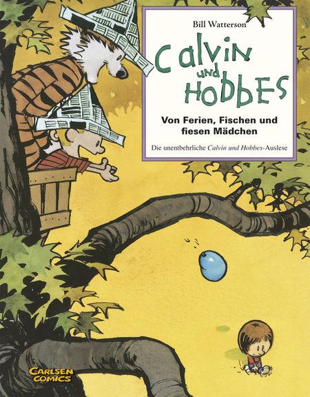 Calvin und Hobbes Sammelband 3: Von Ferien, Fischen und fiesen Mädchen - Das Cover