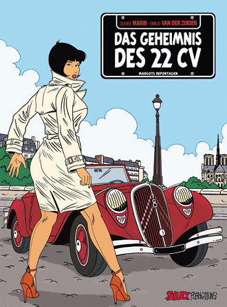Margots Reportagen 1: Das Geheimnis des 22 CV - Das Cover