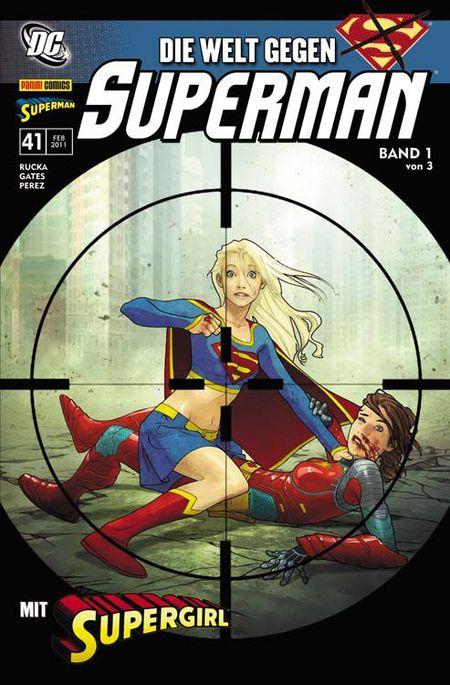 Superman Sonderband 41: Die Welt gegen Superman 1 - Das Cover