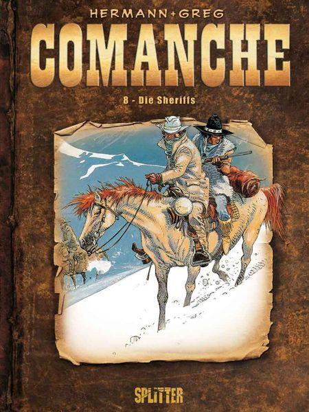 Comanche 8: Die Sheriffs - Das Cover
