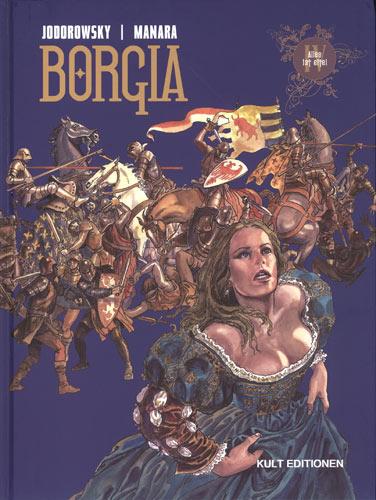 Borgia 4: Alles ist eitel - Das Cover