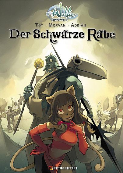 Wakfu Heroes 1: Der Schwarze Rabe - Das Cover