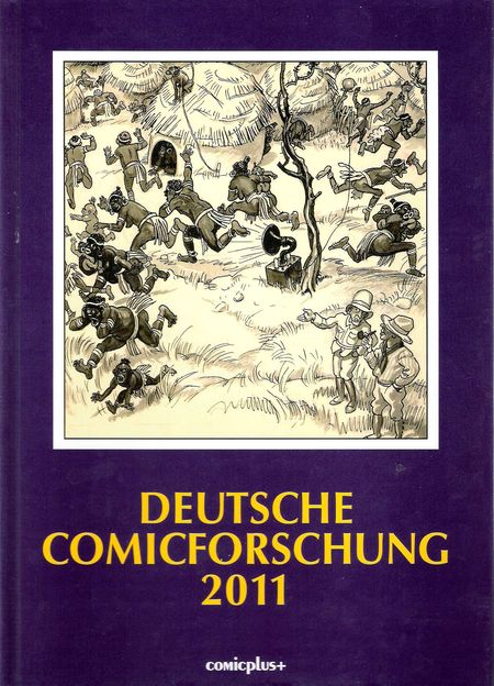 Deutsche Comicforschung 2011 - Das Cover
